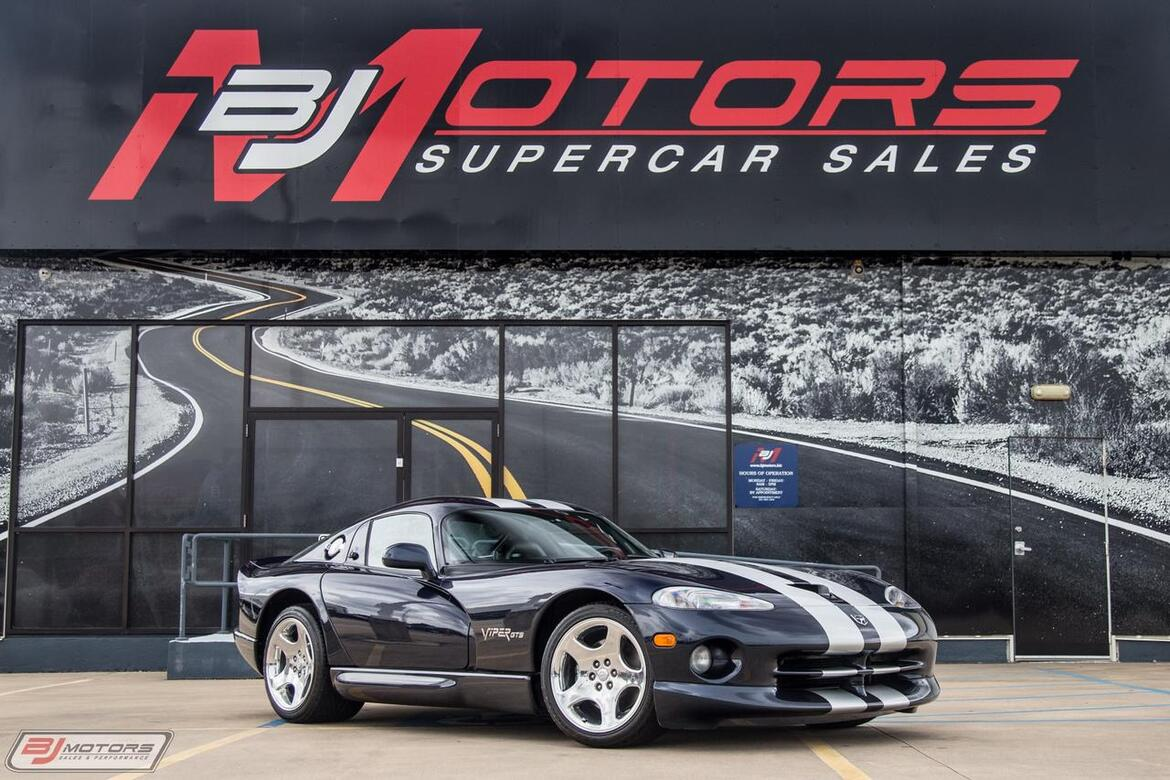 2001 Dodge Viper GTS with 356 Miles Tomball TX