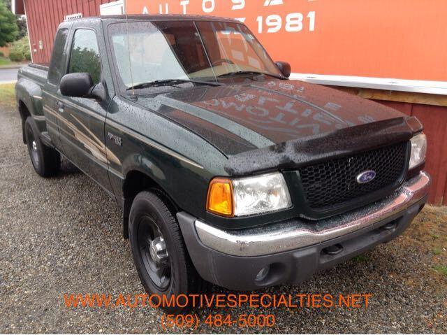 2001 Ford Ranger 4x4 Club Cab Spokane WA