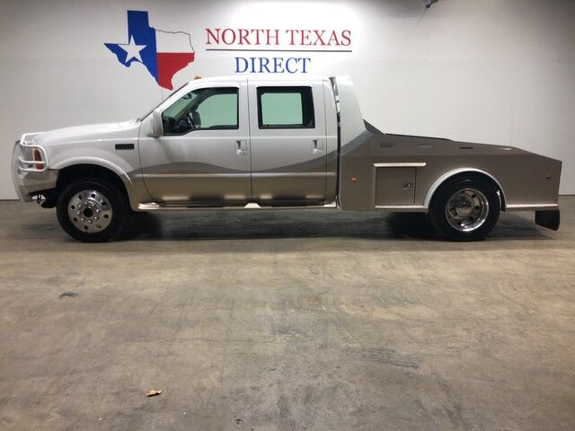 2001 Ford Super Duty F-450 Lariat 4x4 7.3 Powerstroke 2L Conversion Air Ride PowerMax Turbo Mansfield TX