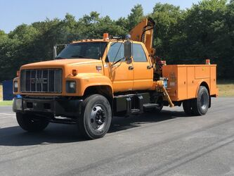 GMC CREW CAB TC7H042 CRANE 2001