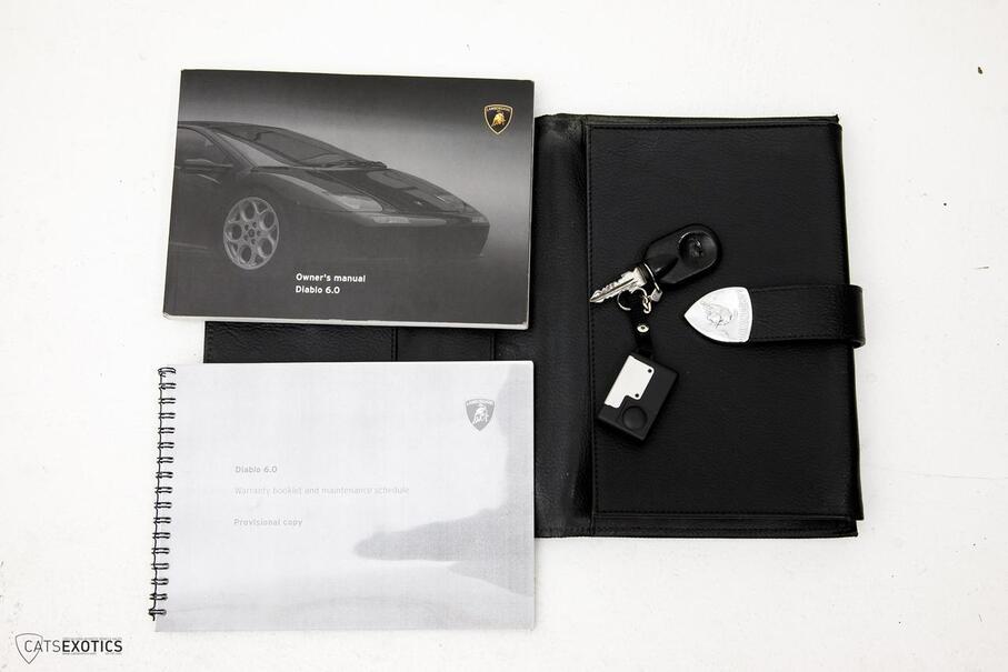 2001 Lamborghini Diablo 6.0  Seattle WA