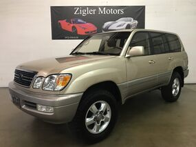 Lexus LX 470 4WD Looks and Drives great Clean Carfax  2001