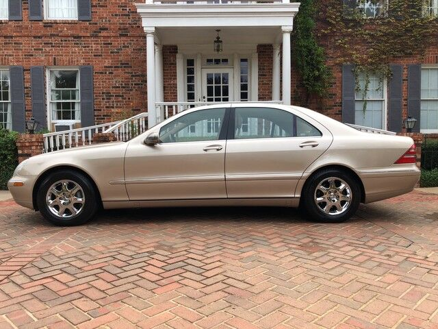 2001 Mercedes Benz S Class NEW PARK PLACE MOTORCARS TRADE EXCELLENT  CONDITION Arlington TX 26472581