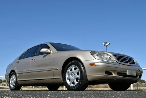 2001_Mercedes-Benz_S-Class_S500_ Fort Worth TX