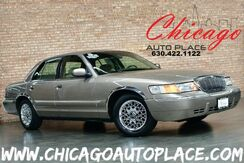 2001_Mercury_Grand Marquis_GS - 1 OWNER 4.6L V8 ENGINE PREMIUM CHROME WHEELS + ACCENTS TAN CLOTH WOOD GRAIN INTERIOR TRIM POWER PEDALS CLIMATE CONTROL_ Bensenville IL