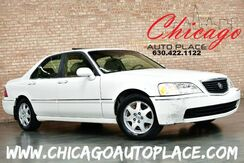2002_Acura_RL_3.5L V6 ENGINE TAN LEATHER WOOD GRAIN INTERIOR TRIM SUNROOF BOSE AUDIO ALLOY WHEELS_ Bensenville IL