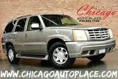 2002 Cadillac Escalade 5.3L VORTEC V8 ENGINE REAR WHEEL DRIVE TAN LEATHER HEATED SEATS BOSE AUDIO REAR TVS 3RD ROW SEATS PARKING SENSORS