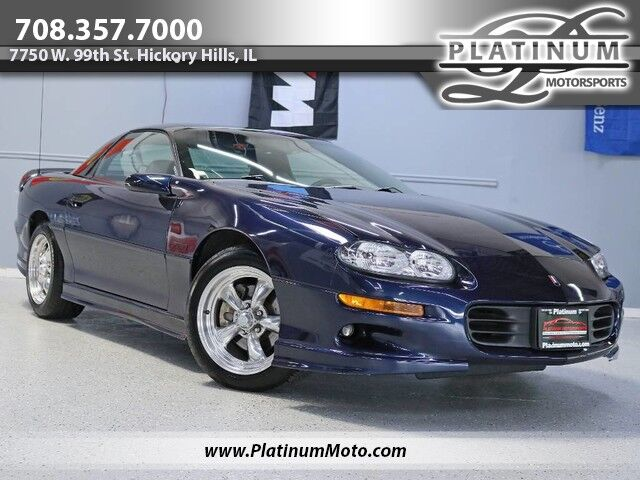 2002 Chevrolet Camaro Z28 1 Owner Leather Auto Window Sticker Books MSRP $26,885 Hickory Hills IL