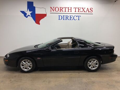 2002 Chevrolet Camaro Z28 T-Top Automatic Leather Keyless Entry Power Windows Mansfield TX