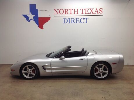 2002 Chevrolet Corvette 4LT 5.7L V8 LS1 Ride Control Convertible Leather 6 Speed Manual Mansfield TX