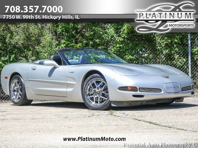 2002 Chevrolet Corvette Convertible 6-Spd Hickory Hills IL
