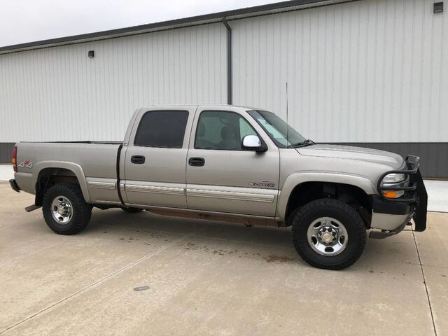 2002_Chevrolet_Silverado 2500HD_6.6L Duramax Diesel 4x4 LS Allison Auto NO RUST_ Decatur IL