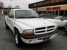 2002_DODGE_DAKOTA_SPORT, BUYBACK GUARANTEE, WARRANTY, CRUISE CONTROL, A/C, FOG LAMPS, TOW PKG, SOFT TONNEAU COVER!!!!!_ Norfolk VA