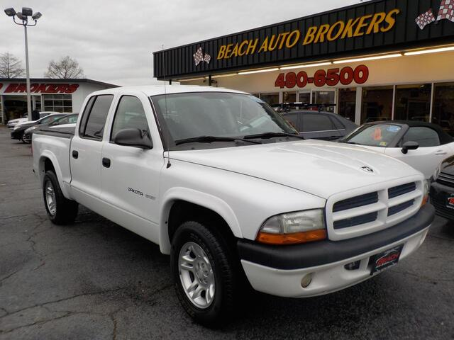 2002 DODGE DAKOTA SPORT, WHOLESALE TO THE PUBLIC AS IS, CRUISE CONTROL, TOW PACKAGE! Norfolk VA