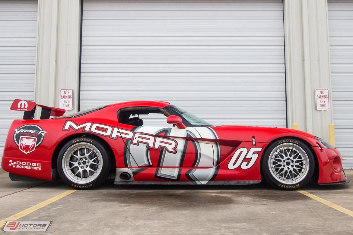2002 Dodge Viper Proto-type Comp Coupe P4 Tomball TX