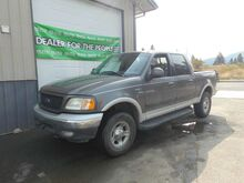 2002_Ford_F-150_Lariat SuperCrew Short Bed 4WD_ Spokane Valley WA