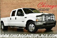 2002_Ford_Super Duty F-350 DRW_XLT CREW CAB - 7.3L DI V8 TURBO-DIESEL POWER STROKE ENGINE REAR WHEEL DRIVE GRAY CLOTH INTERIOR REAR LCD TV 6 PASSENGER SEATING_ Bensenville IL
