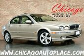 2002 Jaguar X-TYPE 3.0L V6 ENGINE ALL WHEEL DRIVE BEIGE LEATHER HEATED SEATS SUNROOF WOOD GRAIN INTERIOR TRIM