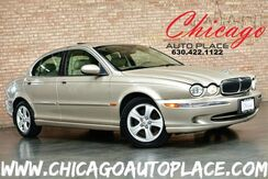 2002_Jaguar_X-TYPE_3.0L V6 ENGINE ALL WHEEL DRIVE BEIGE LEATHER HEATED SEATS SUNROOF WOOD GRAIN INTERIOR TRIM_ Bensenville IL