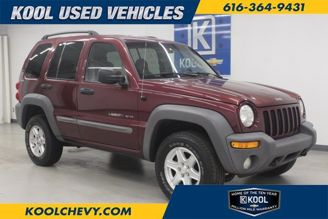 Jeep Dealership Grand Rapids Mi >> 2002 Jeep Liberty Sport Grand Rapids Mi 24439309