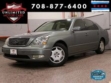 2002_Lexus_LS 430_Navigation Heated Seats_ Bridgeview IL