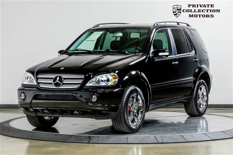 2002 mercedes-benz ml55 amg amg m-class 1 owner clean carfax