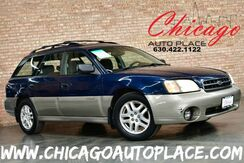 2002_Subaru_Legacy Wagon_Outback w/All Weather Pkg - 2.5L 4-CYL ENGINE ALL WHEEL DRIVE GRAY CLOTH HEATED SEATS WOOD GRAIN INTERIOR TRIM ALLOY WHEELS_ Bensenville IL