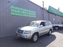 2002_Toyota_Highlander_V6 4WD_ Spokane Valley WA
