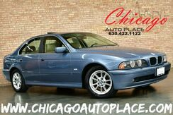 2003_BMW_5 Series_525iA - 2.5L I6 ENGINE REAR WHEEL DRIVE TAN LEATHER HEATED SEATS SUNROOF WOOD GRAIN INTERIOR TRIM PREMIUM ALLOY WHEELS_ Bensenville IL