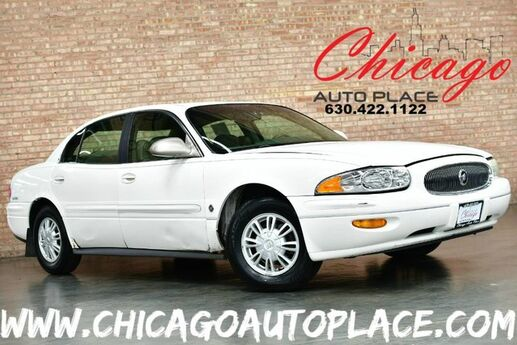 2003 Buick LeSabre Limited - 3.8L V6 ENGINE FRONT WHEEL DRIVE BROWN LEATHER HEATED SEATS DUAL ZONE CLIMATE WOOD GRAIN INTERIOR TRIM Bensenville IL