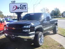 CHEVROLET SILVERADO 2500HD EXTENDEDCAB TURBO DIESEL 4X4, CARFAX CERTIFIED, LIFTED, PREMIUM WHEELS, BLUETOOTH, LOW MILES! 2003