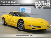2003_Chevrolet_Corvette Z06_50th Anniversary Heads Up Bone Stock_ Hickory Hills IL
