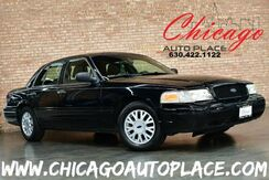 2003_Ford_Crown Victoria_LX - 4.6L V8 ENGINE REAR WHEEL DRIVE DARK GRAY LEATHER WOOD GRAIN INTERIOR TRIM POWER SEATS_ Bensenville IL