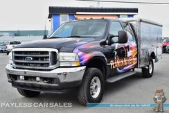 2003_Ford_F-350_Lariat Food Truck / 4X4 / 5-Spd Manual / Heated Leather Seats / Refrigerator / Showcase / Dispenser / Sink / Water Tank_ Anchorage AK