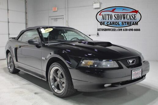 2003 Ford Mustang GT Convertible 100th Anniversary Carol Stream IL