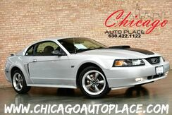 2003_Ford_Mustang_GT Premium - 5 SPEED MANUAL 4.6L 260HP V8 ENGINE CLEAN CARFAX GRAY LEATHER SPORT SEATS MACH AUDIO_ Bensenville IL