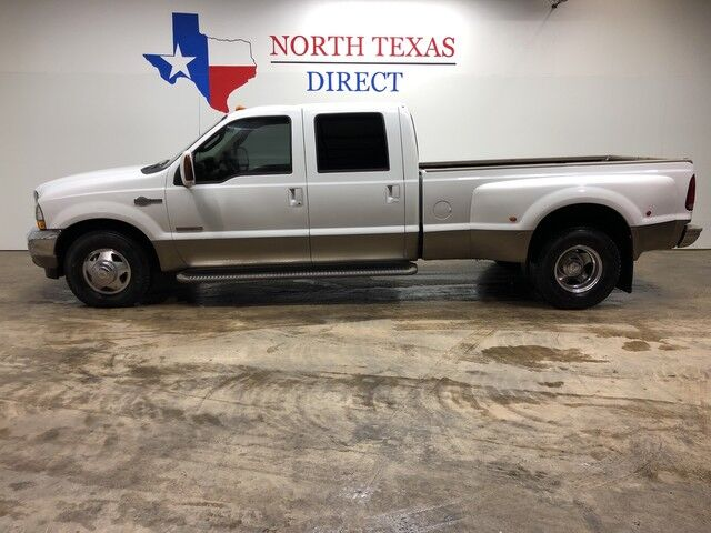 2003 Ford Super Duty F-350 DRW King Ranch Dually Diesel Touchscreen Heated Leather Mansfield TX