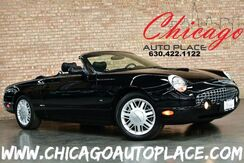 2003_Ford_Thunderbird_Premium CONVERTIBLE - 3.9L V8 ENGINE REAR WHEEL DRIVE BLACK LEATHER SPORT SEATS ALUMINUM SILVER INTERIOR TRIM DUAL ZONE CLIMATE_ Bensenville IL