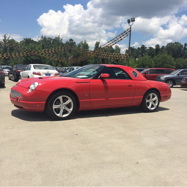 2003 Ford Thunderbird Premium with removable top Hattiesburg MS