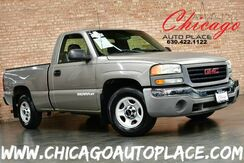 2003_GMC_Sierra 1500_Work Truck - 4.3L VORTEC V6 ENGINE 5-SPEED MANUAL 1 OWNER TRANSMISSION REAR WHEEL DRIVE BLACK BEDLINER 3 PASSENGER SEATING_ Bensenville IL