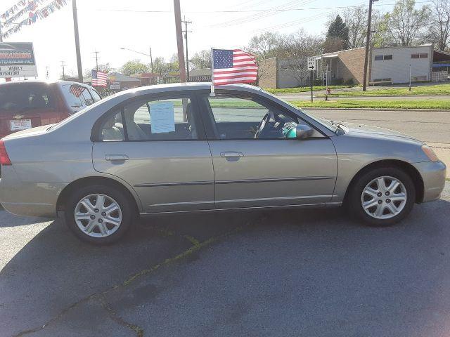 2003 Honda Civic EX Sedan 4-spd AT Middletown OH