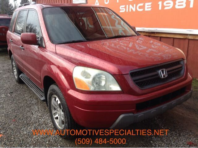 2003 Honda Pilot EX w/ Leather and DVD Spokane WA
