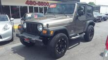 JEEP WRANGLER SE, AUTOCHECK CERTIFIED, LIFTED, AMERICAN RACING WHEELS, LEATHER, SATELLITE, READY FOR THE BEACH! 2003