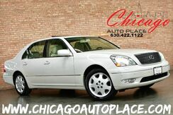 2003_Lexus_LS 430_4.3L V8 ENGINE REAR WHEEL DRIVE NAVIGATION BEIGE LEATHER INTERIOR HEATED/COOLED SEATS SUNROOF PARKING SENSORS_ Bensenville IL