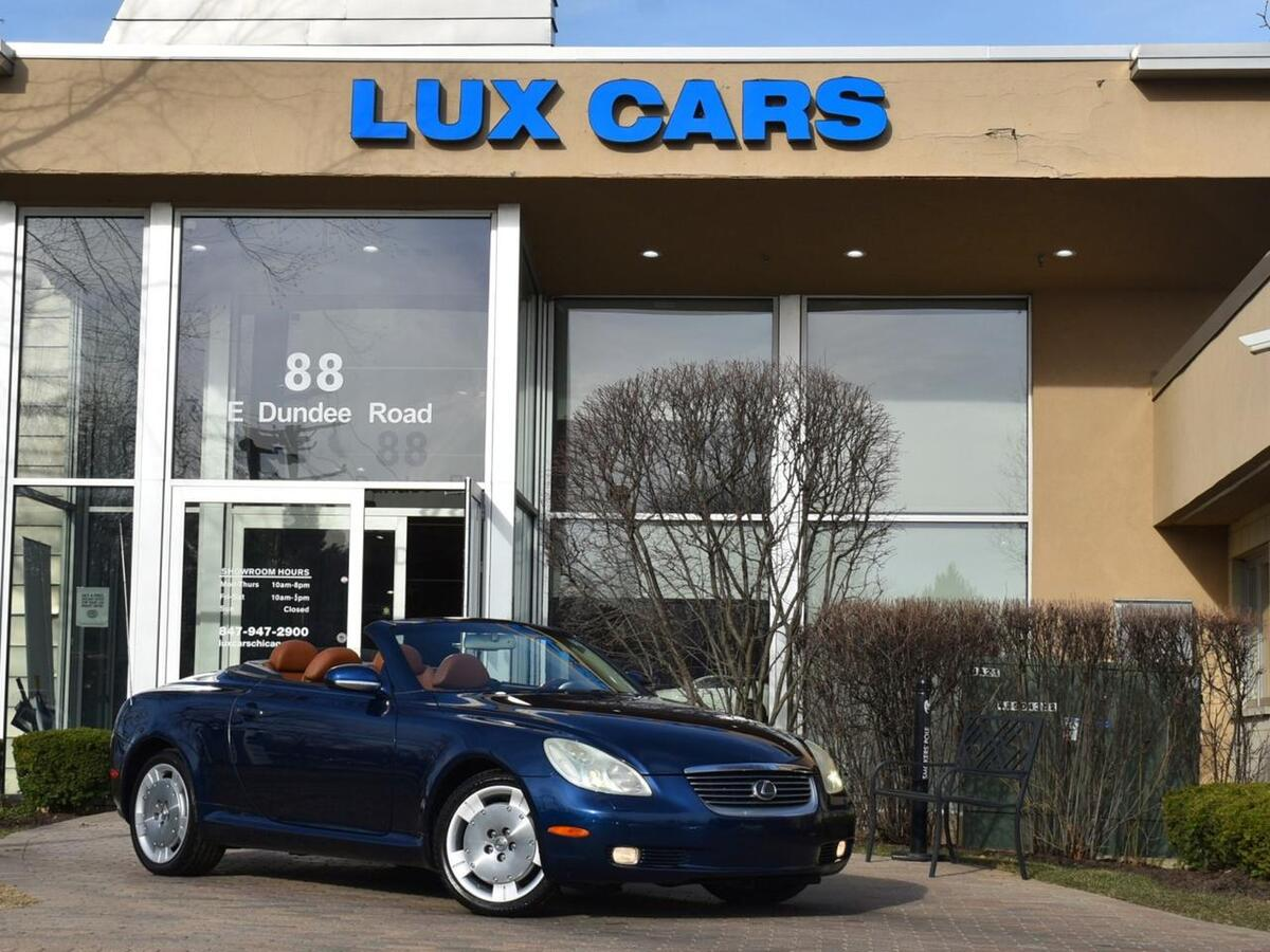 2003_Lexus_SC 430_Convertible Nav MSRP $63,634_ Buffalo Grove IL