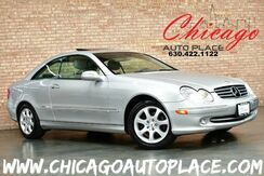 2003_Mercedes-Benz_CLK 320_COUPE - 3.2L ALUMINUM-ALLOY V6 ENGINE GRAY LEATHER HEATED SEATS SUNROOF WOOD GRAIN INTERIOR TRIM XENONS POWER REAR SUNSHADE_ Bensenville IL