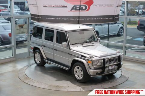 2003_Mercedes-Benz_G-Class_G55 AMG_ Chantilly VA