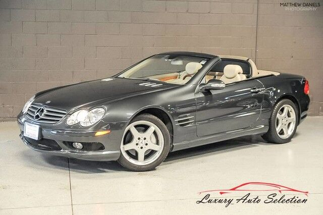 2003_Mercedes-Benz_SL500 Sport_2dr Convertible_ Chicago IL