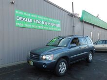 2003_Toyota_Highlander_V6 2WD_ Spokane Valley WA