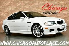 2004_BMW_3 Series_M3 Coupe - 3.2L I6 ENGINE SMG TRANSMISSION PADDLE SHIFTERS REAR WHEEL DRIVE GRAY LEATHER HEATED SEATS HARMAN/KARDON AUDIO SUNROOF XENONS_ Bensenville IL
